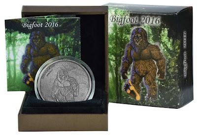 Sasquatch Silver Coin Box