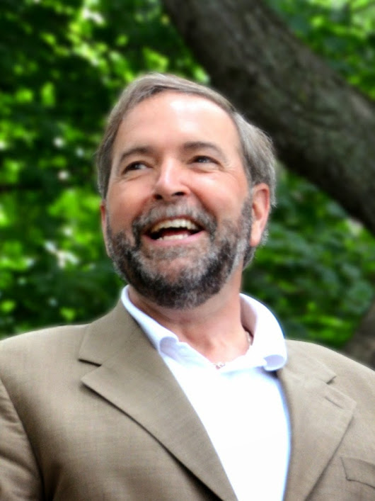 Election 2015: Mulcair, the Reasonable One.