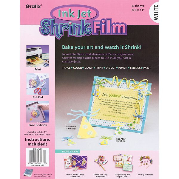image grafix shrink film plastic shrinky