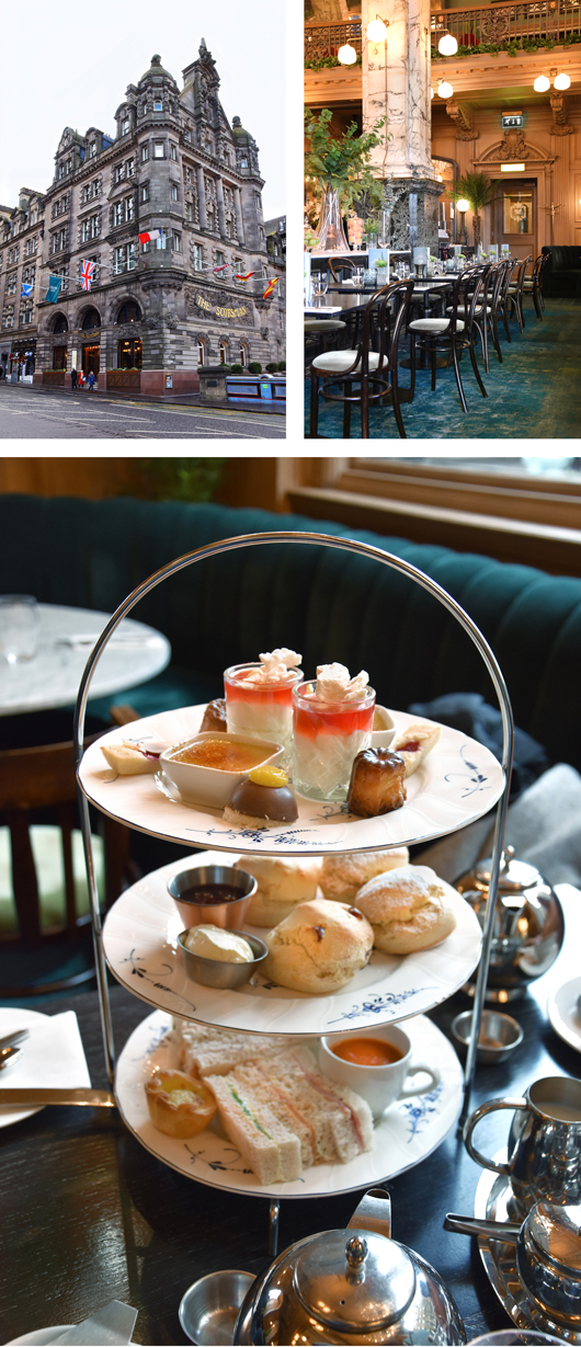 The Grand Cafe - bester Afternoon Tea in Edinburgh