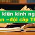 SÁNG KIẾN KINH NGHIỆM ĐOÀN-ĐỘI CẤP THCS