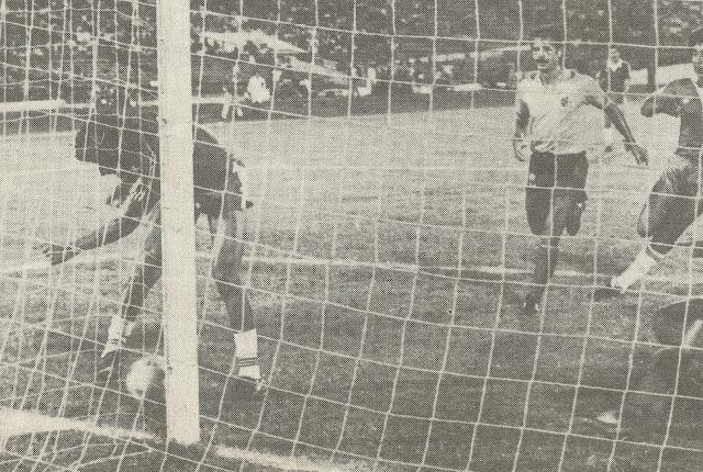 Chile y Colombia en partido amistoso, 21 de febrero de 1985