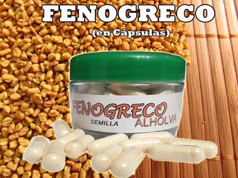 Semillas de fenogreco engorda