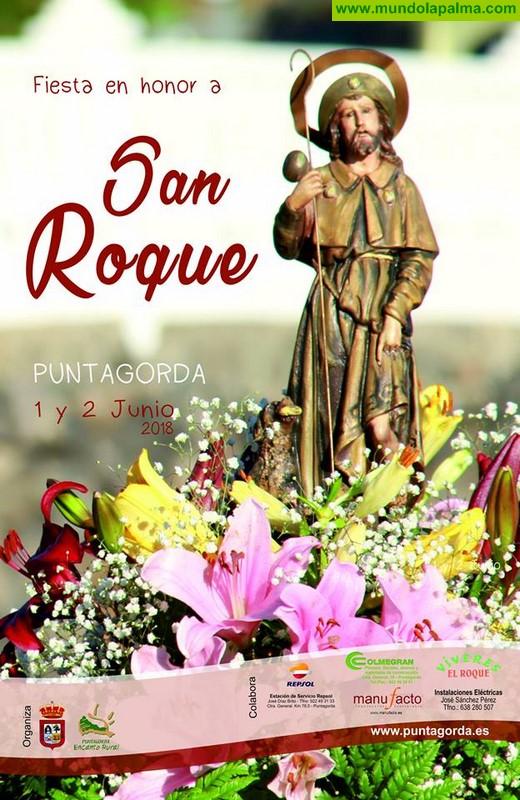 Fiesta en honor a San Roque en Puntagorda