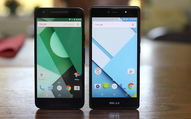 Life One X compared to Nexus 5X