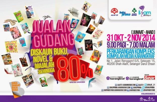Duranorell | Jualan gudang Karangkraf 31st Oct - 2nd Nov 2014