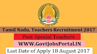 Tamil Nadu, Teachers Recruitment Board -1325 Special Teachers