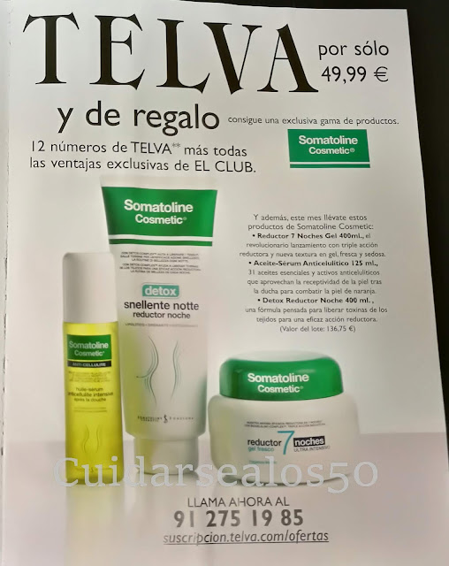 Regalo suscripción Revista Telva