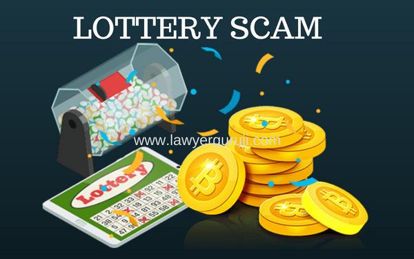लोटरी स्कैम से सावधान रहे। Be-aware  from  Lottery Scam.