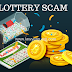 लॉटरी स्कैम से सावधान रहे। Be-aware  from  Lottery Scam.