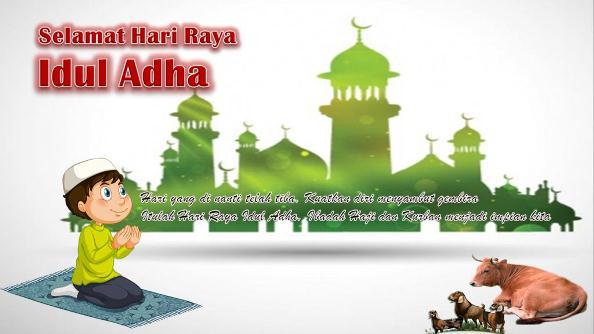 Gambar DP BBM Ucapan Selamat Idul Adha