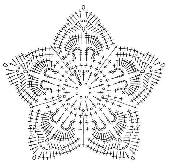 Crochet Knitting Handicraft: beautiful flowers