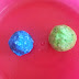 DIY Colored Cloud Dough