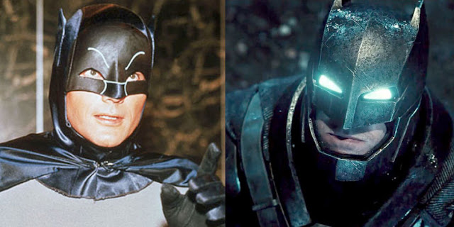 Batman, then and now