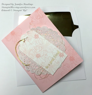 Flower Shop stamp set \ Cups & Kettle framelits dies \ pop-up card \ Stampin' Up! \ StampinBlessings.wordpress.com