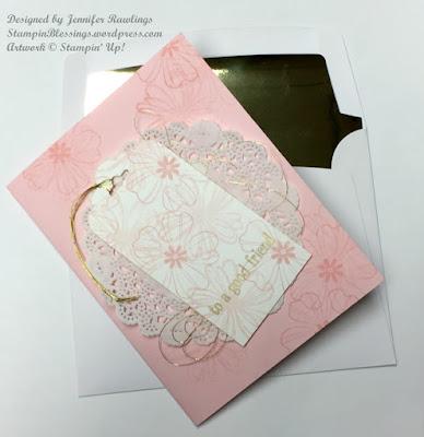 Flower Shop stamp set \ Cups & Kettle framelits dies \ pop-up card \ Stampin' Up! \ StampinBlessings.wordpress.com