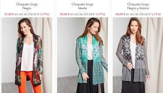 chaquetas para mujer