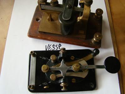 VE3SP Lionel Morse Code J-38 - VA3AGV VE3SP Amateur Radio Toronto Canada