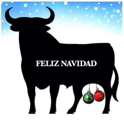 Feliz Navidad , toro, Osborne, bolas, España