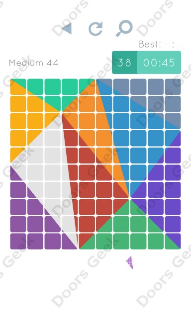 Cheats, Walkthrough for Blocks and Shapes Medium Level 44