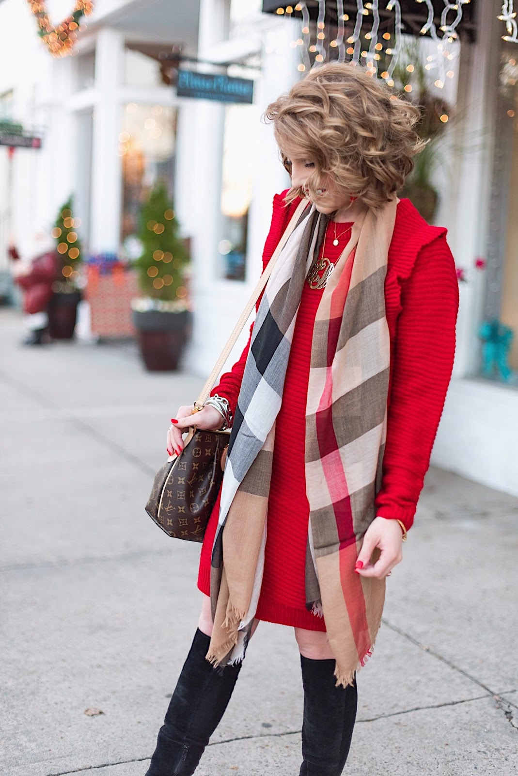 Burberry Mega Check Scarf - Something Delightful Blog