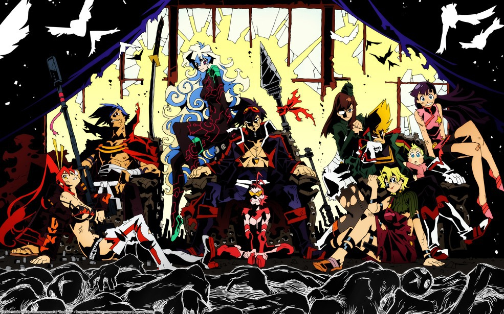 Anime wallpaper gurren lagann wallpaper - Gurren lagann wallpaper ...