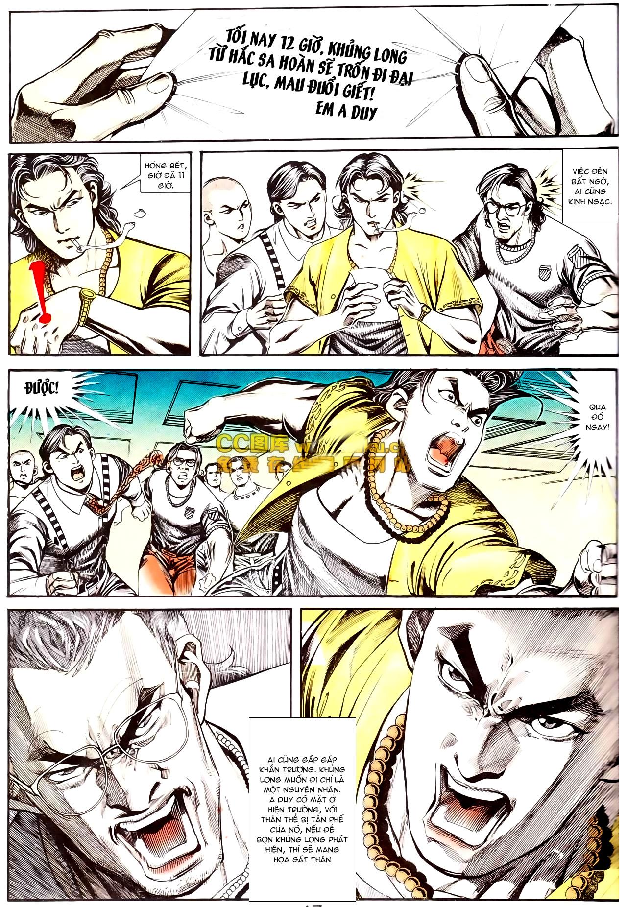 Người Trong Giang Hồ chapter 168: người đẹp dưới nước trang 3