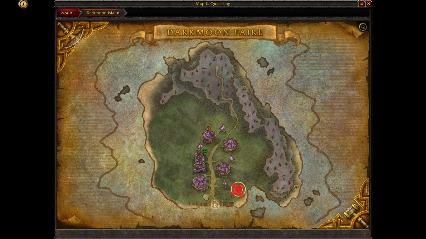 x marks the spot pinpointed location of the quartermaster