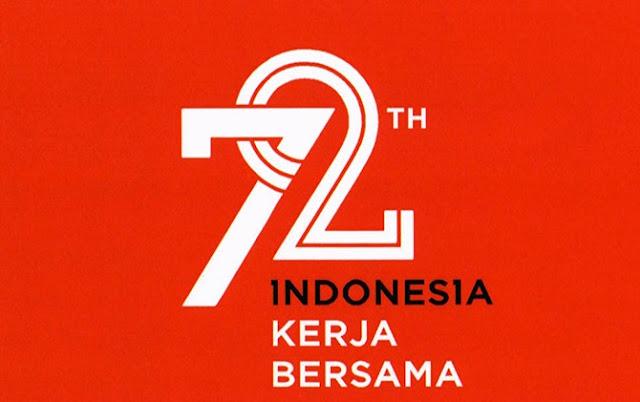Wajib Tahu, Ini Logo dan Tema Hari Kemerdekaan ke-72