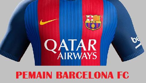 skuad Pemain Barcelona FC