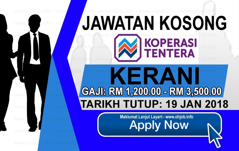 Jawatan Kerja Kosong Koperasi Tentera logo www.ohjob.info januari 2018