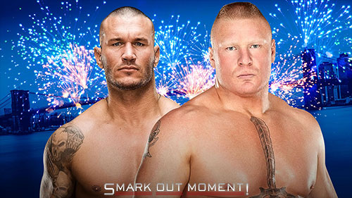 WWE SummerSlam 2016 PPV Lesnar vs Orton