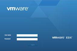 Membuat Virtual machine di VMWARE ESXi 6.7
