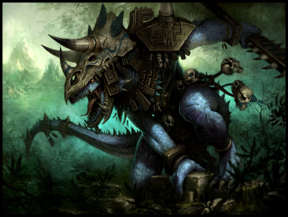Dreamy Fantasy Battle Monster Magic Artwork Wallpaper