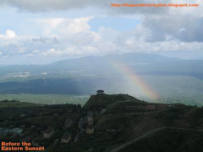 People's Park Tagaytay - rainbow