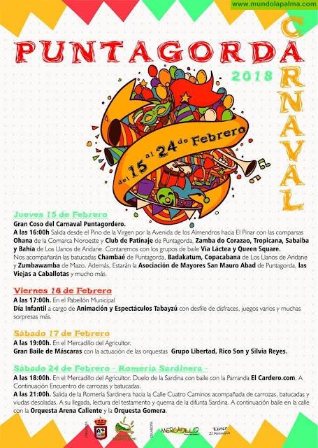 Programa Carnaval 2018 Puntagorda