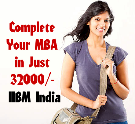 Complete Your MBA in Just 32000/-