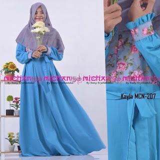 Gamis Michan Hijab kayla MCN 207