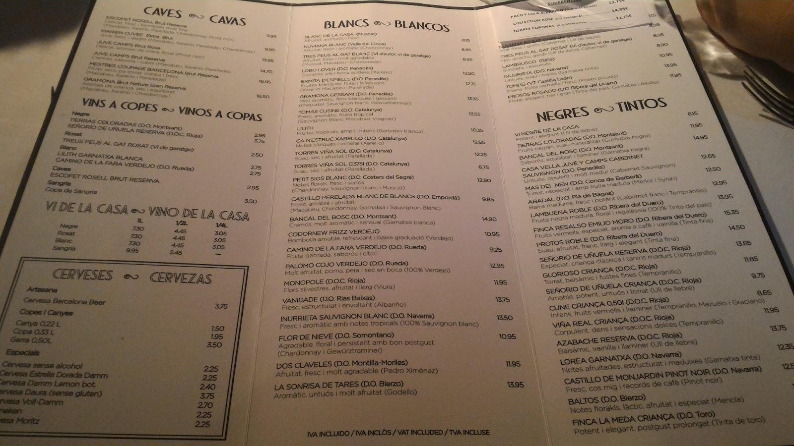 【巴塞隆納】La Fonda 便宜親民,CP值超高的西班牙餐廳   妖精的號角