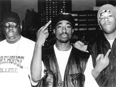 Biggie Smalls, Tupac Shakur y Redman