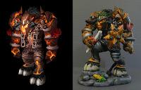 statuetta videogioco preferito action figure guerrieri creature fantasy orme magiche