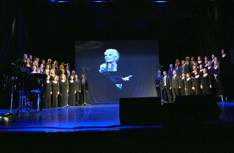 Προβολή βίντεο: Η Μαρινέλλα τραγουδά το «Σήμερον που σ' αντίκρισα (Ξύπνα Γληόρη)»