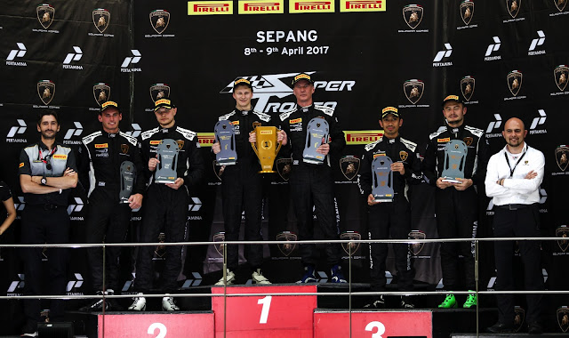 Day 1 : Lamborghini Super Trofeo Asia series at Sepang International Circuit in Malaysia