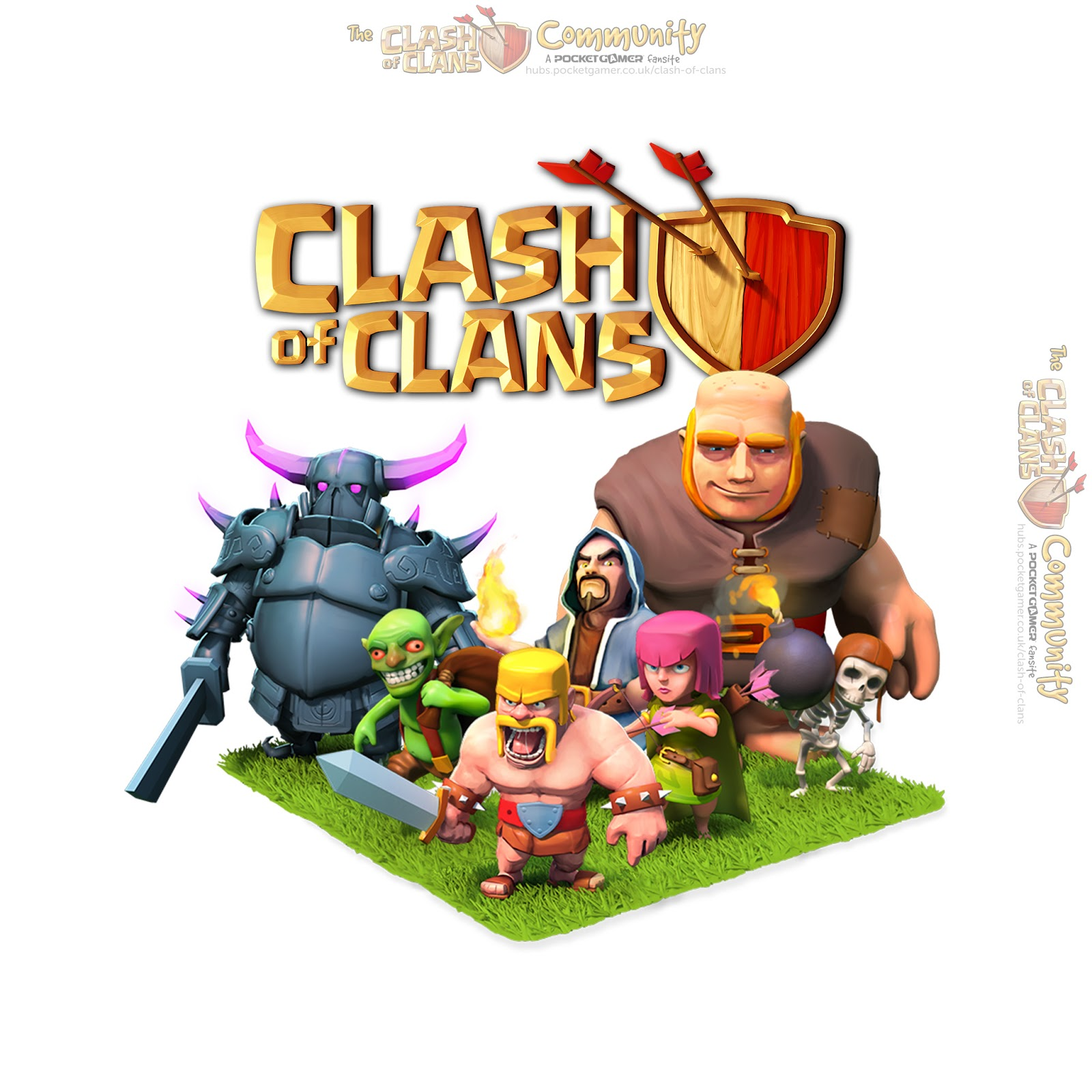 Meet Bubble And Squeak Clash Of Clans Trip Games