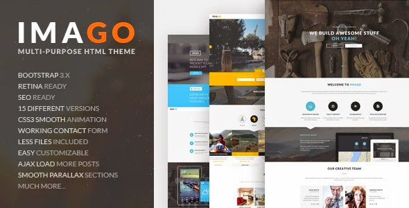 Best Premium multipurpose HTML5 Template 2015