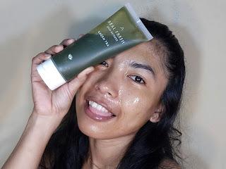 real fresh skin detoxer saat di pakai