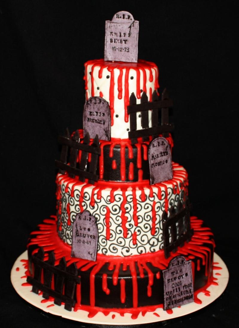 Addams Family Cake
