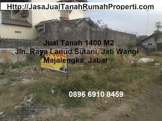 Tanah Murah DI Jatiwangi Majalengka jln Raya Lanud Sutani