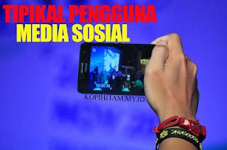 Tipikal Pengguna Media Sosial Versi bang Ochoy
