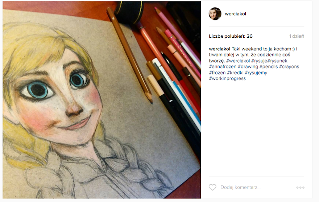 Anna Frozen rysunek